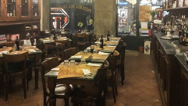 Pizzeria del Ticinese Vista sala