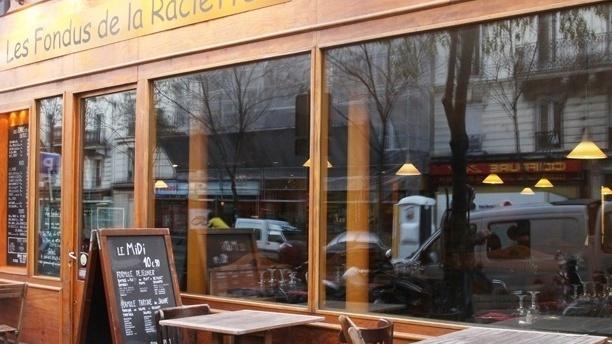 Les Fondus de la Raclette. Paris 11ème Extérieur