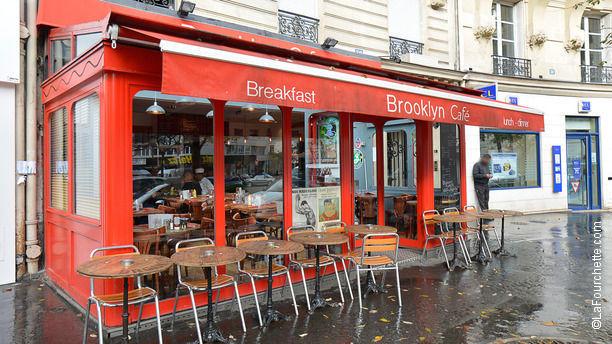 Restaurant brooklyn caf paris 75017 arc de triomphe - Restaurant le congres paris porte maillot ...