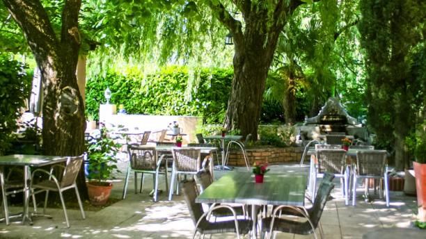 Le Relais du Vivarais en terrasse