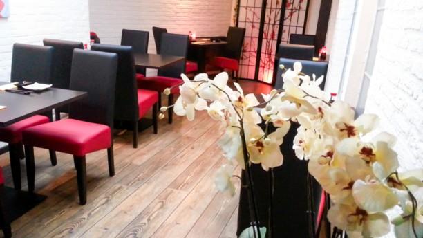 Japans Restaurant Kichi Restaurantzaal