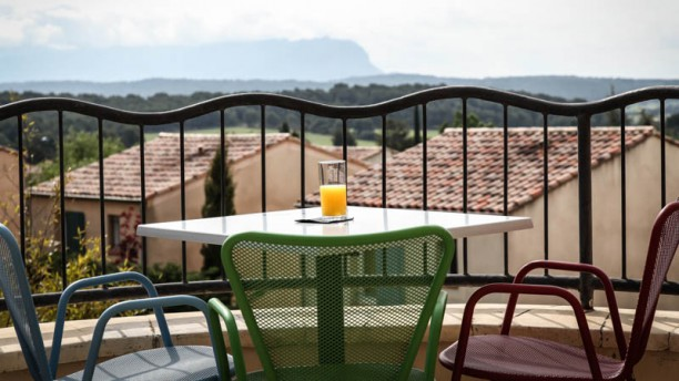 L'Atelier Gourmand vue terrasse
