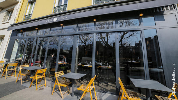 Restaurant la table de cyb le boulogne billancourt - Table jardin soldee boulogne billancourt ...