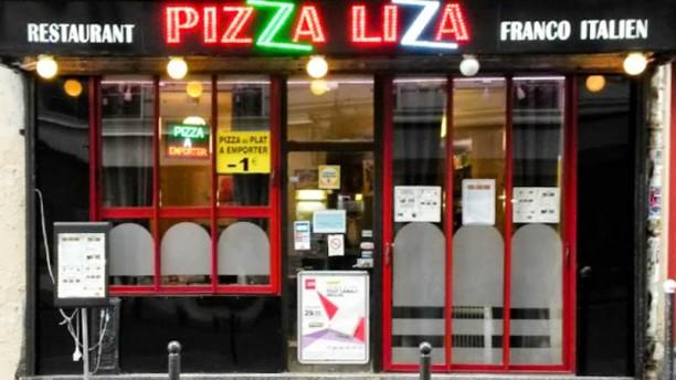 Pizza Liza Façade