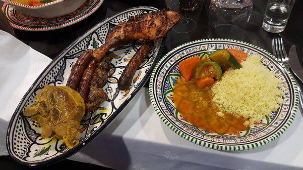 L'Oriental plat