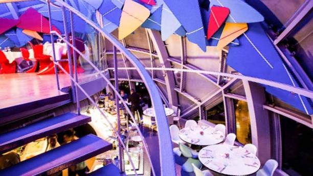 Atomium Restaurant Vue de la salle