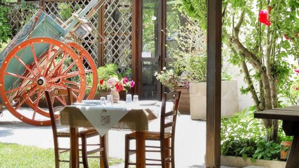 Agriturismo Malapezza terrazza-giardino