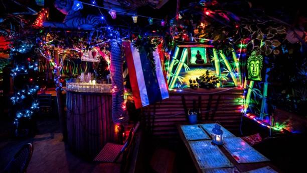 Koh Phangan Södermalm Restaurangens rum