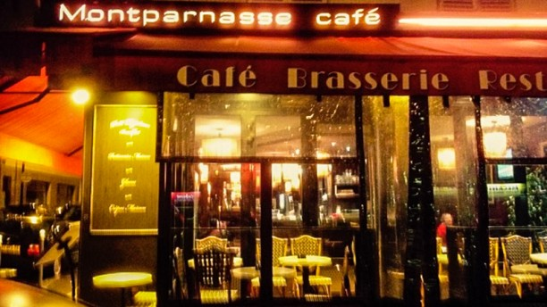 Montparnasse Café devanture