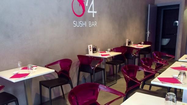 O'4 Sushi Bar salle