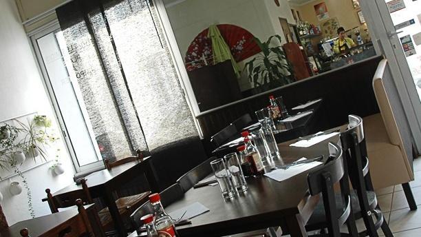 Zenji Café Vue de la salle