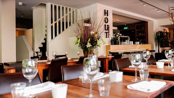 Hout Restaurantzaal