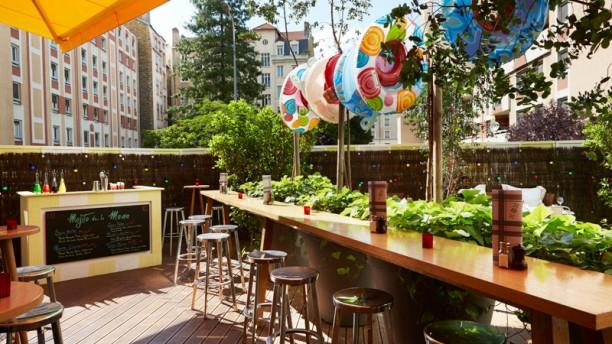 Mama Restaurant Lyon terrasse