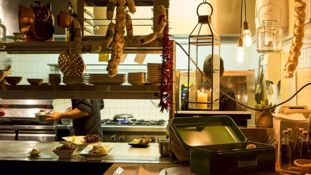 Souvla Restaurantzaal