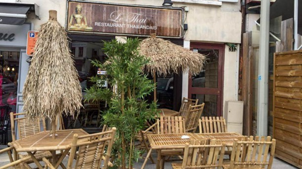 Le Thailandais Paris Bangkok Terrasse