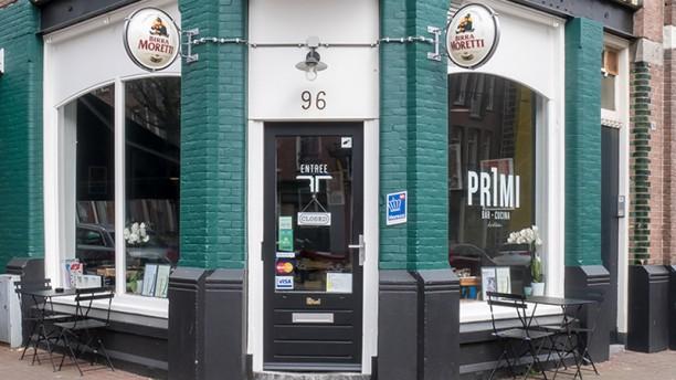 Primi Cucina & Bar Westerpark Voorkant