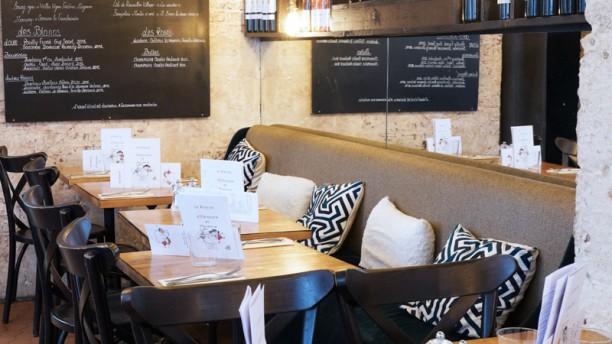LE BEM - Le Bistrot d'Eleonore et Maxence Salle du restaurant