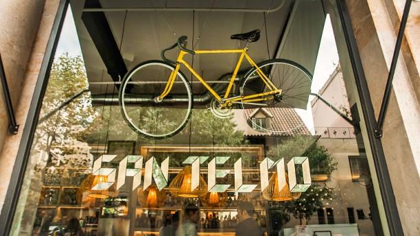 Café San Telmo detalle fachada