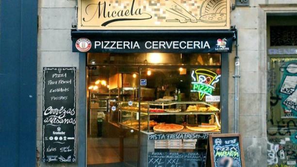 Micaela Pizzería Esterno