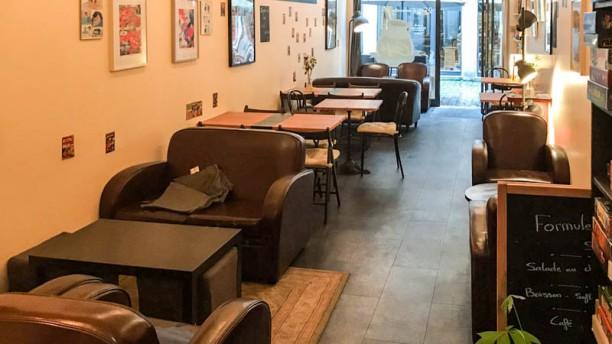 Café Dessiné Vue de la salle