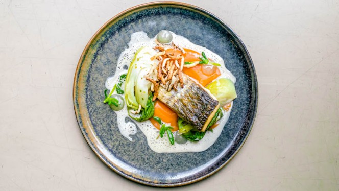 Suggestie van de chef - The Lobby Nesplein Restaurant & Bar (Hotel V), Amsterdam