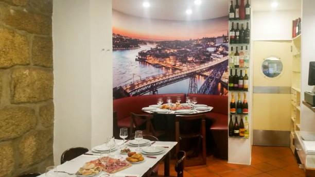 Imperador Oporto Sala do restaurante