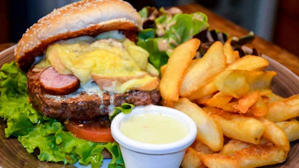 Trapper´s house Le Jurassic Burger