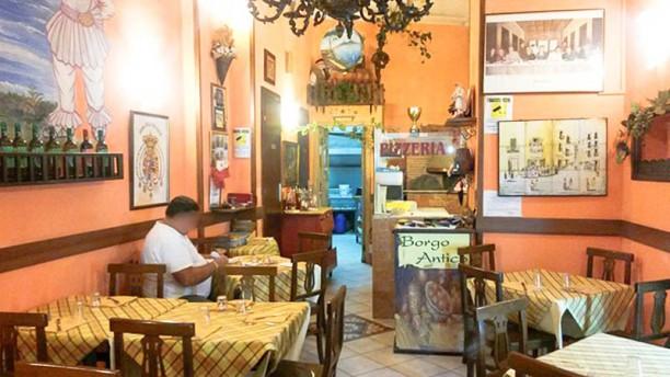 Osteria Borgo Antico La sala