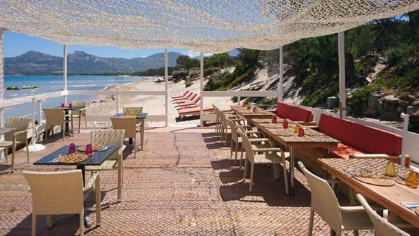 Mayakoba Beach Terrasse