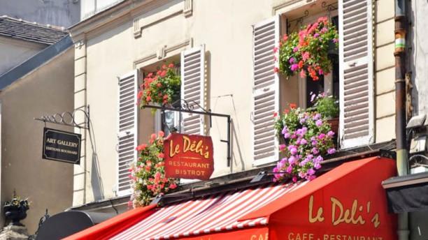 Le Déli's Café Façade du restaurant