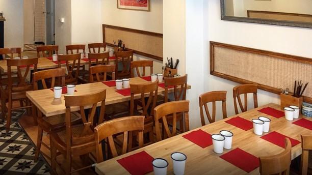 L'Atelier Mala Salle du restaurant