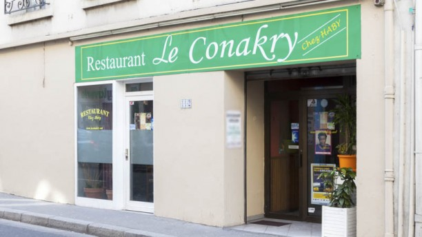 Conakry façade