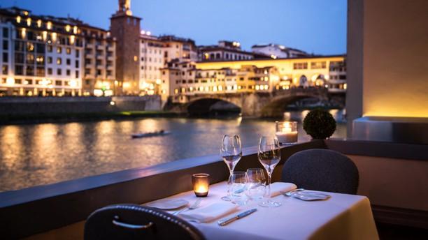 Borgo San Jacopo Sala del ristorante