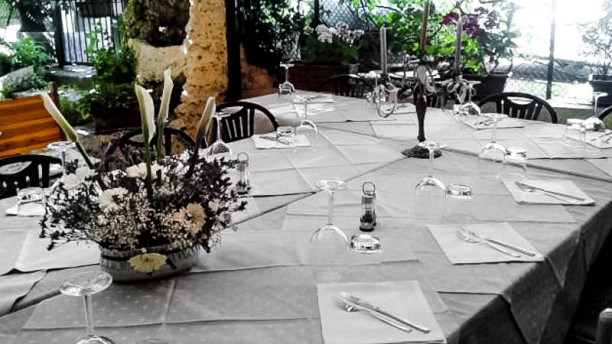 La Piccola Lanterna Particolare tavolo