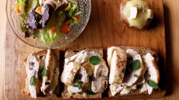La Tartine especialidad del chef