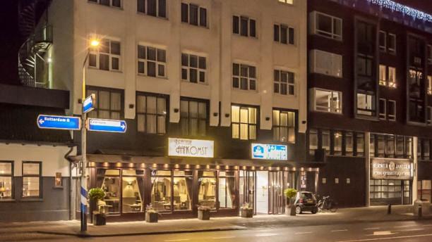 Brasserie Aankomst (Best Western City Hotel Goderie) Vooraanzicht Brasserie Aankomst