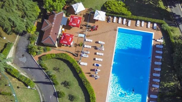 Ristorante Colleverde Siena Esterno con piscina