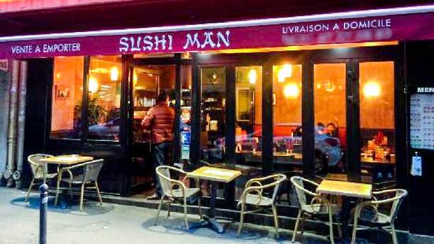 Sushi Man Entrée