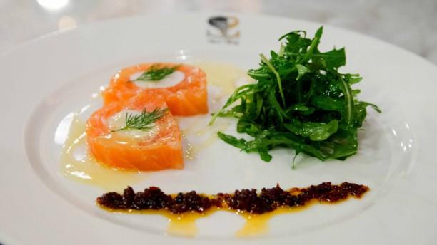 Secret Square Pressé de saumon gravelax au homard et gingembre