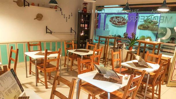 Cocina Mediterránea Vista sala