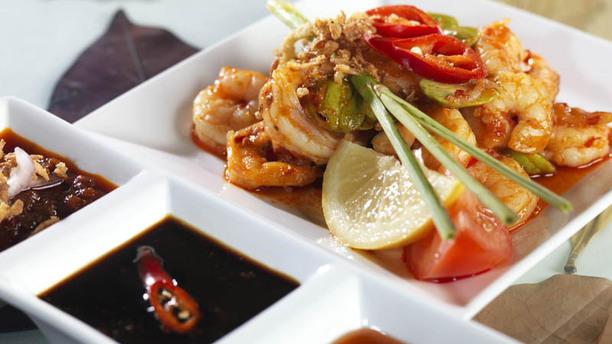 Indonesisch Restaurant Toko Frederik Indonesische Garnalen TF
