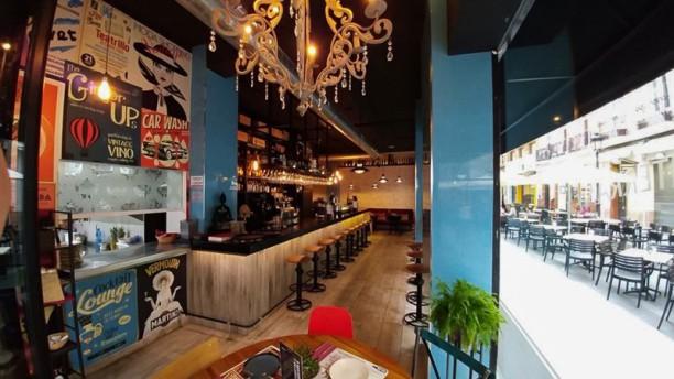 Velvet Tapas y Vinos El restaurante