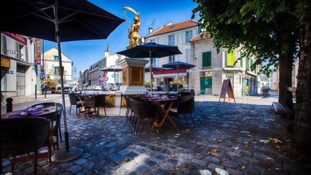 Saint Stephano Pizzeria Terrasse