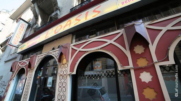 L'Oasis Devanture du restaurant L'Oasis