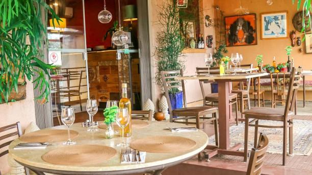 Vila Parolari Restaurant Vista do interior