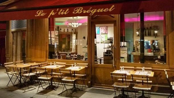 Le P'tit Bréguet terrasse