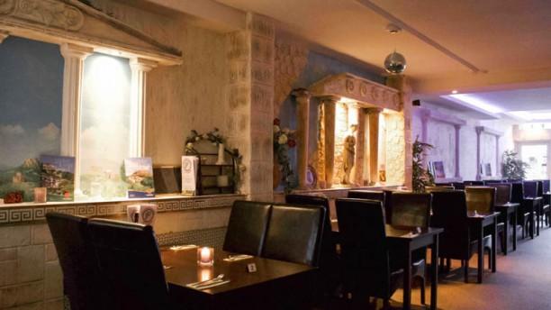 Griekse Taverna Yamas Het restaurant