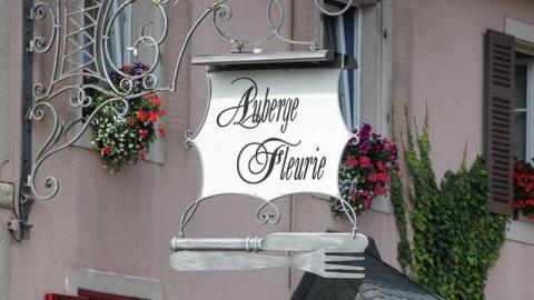 restaurant - Auberge fleurie - Belverne