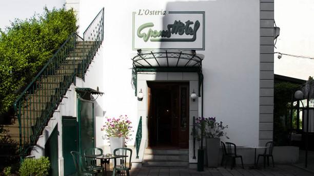 Grand Hotel Osteria La entrata