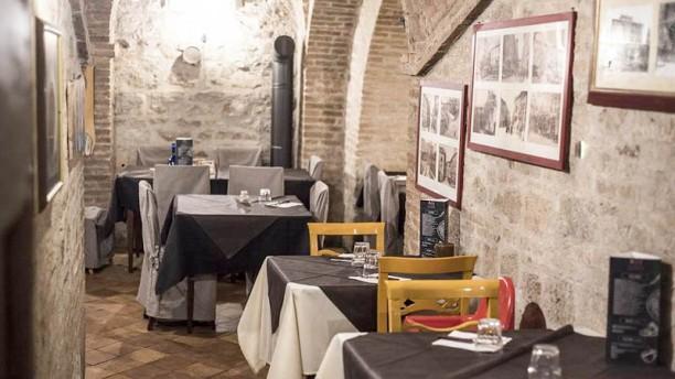 La Pasteria di Perugia Vista sala